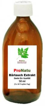 ProNatu Bear's garlic extract drops (finest organic quality)
