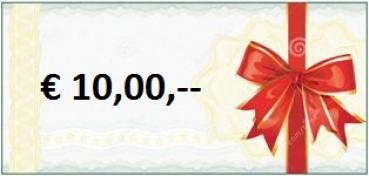 Gift-Coupon a' € 10,00