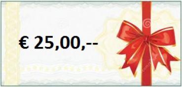 Gift-Coupon a'€ 25,00