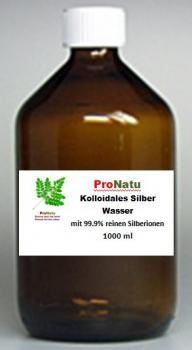 ProNatu Colloidal Silver 25ppm water