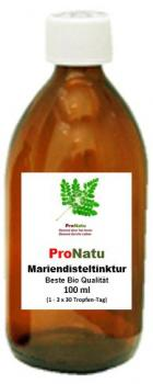 ProNatu Milk Thistle tincture; 100 ml(organic cultivation)