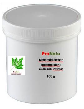 ProNatu Neem leaves cutting - 100 g (best organic quality)