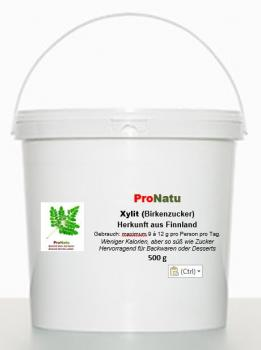 ProNatu Xylitol - 100% Finnish birch sugar